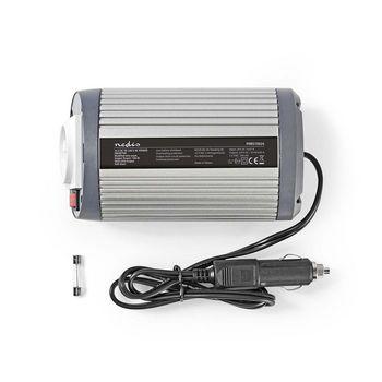 Power Inverter Modified Sine Wave   24 V DC - 230 V AC   150 W   1x Schuko / 1x USB Output