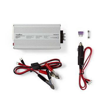 Power Inverter Modified Sine Wave | 24 V DC - 230 V AC | 300 W | 1x Pin Earth / 1x USB Output