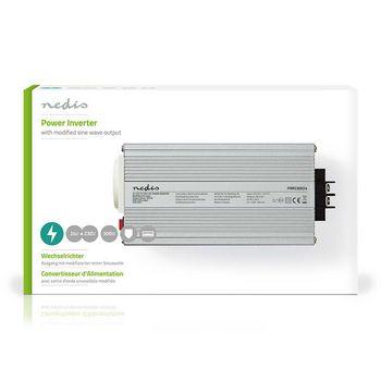 Power Inverter Modified Sine Wave | 24 V DC - 230 V AC | 300 W | 1x Schuko / 1x USB Output