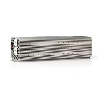 Power Inverter Modified Sine Wave | 24 V DC - 230 V AC | 4000 W | 2x Schuko Output | Remote Control