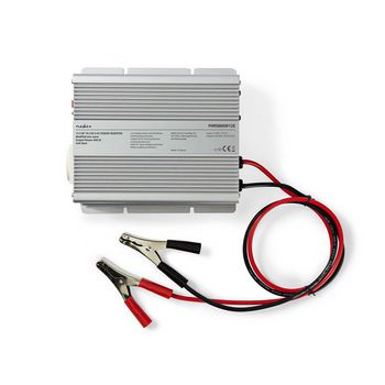 Power Inverter Modified Sine Wave | 12 V DC - 230 V AC | 600 W | 1x Pin Earth Output