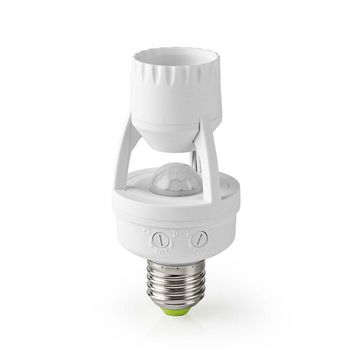 Motion Detector | E27 Fitting | Adjustable Time and Ambient Light Settings