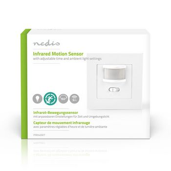 Motion Detector | 2-Wire Installation | Adjustable Time and Ambient Light Settings