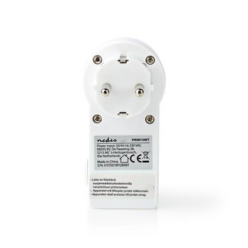 Motion Detector | Schuko Type F | Adjustable Time, Ambient Light and Sensitivity Settings