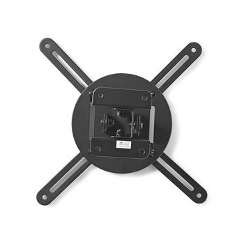 Projector Ceiling Mount | 360° Rotatable | Max 10 kg | 130 mm Ceiling Distance | Black