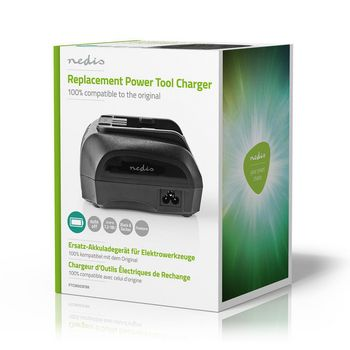 Power Tool Charger | Battery Output 7.2 - 18 V DC | Black & Decker, Firestorm, Dewalt
