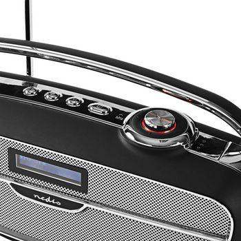 Radio DAB+ digitale | 60 W | FM | Bluetooth®: | Nero/Argento