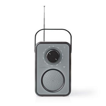 FM / AM Radio | 1.8 W | Carrying Handle | Grey / Black