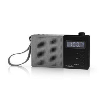 FM Radio | 2.1 W | Clock & Alarm | Multifunctional Turning Knob | Grey / Black