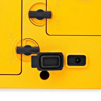 Jobsite FM Radio | 15 W | Bluetooth® | IPX5 | Carrying Handle | Yellow / Black
