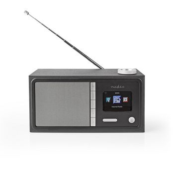 Internettradio | 18 W | FM | Bluetooth® | Fjernkontroll | Sort