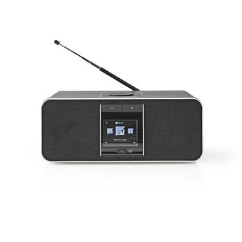 Radio por Internet | 42 W | DAB+ | FM | Bluetooth® | Negra