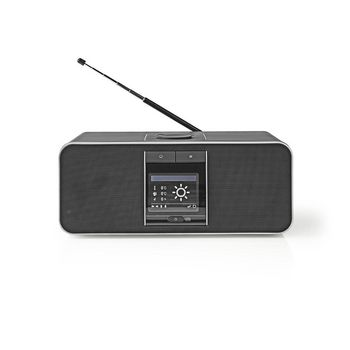 Internetradio | 42 W | Internetradio med dab | FM | Bluetooth® | Sort