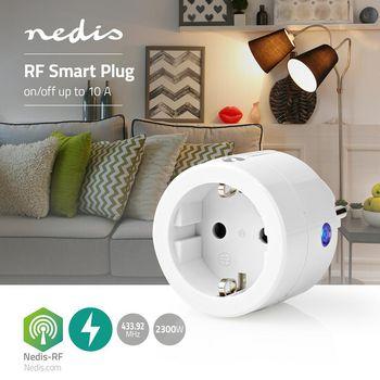 RF Smart Plug | On/Off | Schuko Type F | 2300 W