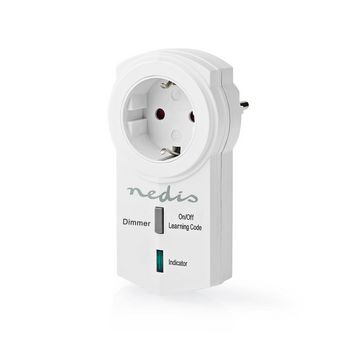 RF-Smart-Stecker | Dimmbar | Schuko-Typ F | 300 W