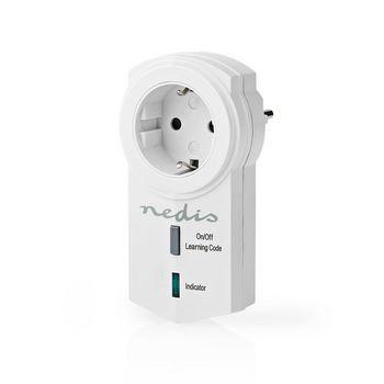 RF Smart Stekker | Aan/Uit | RF Mesh Range Extender | Schuko Type F | 3680 W