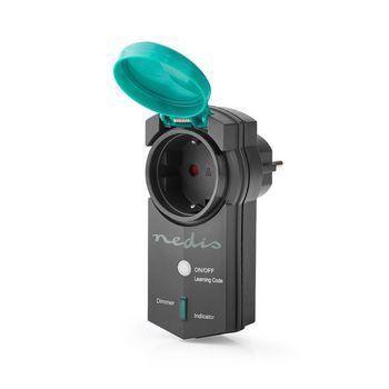 RF Smart Plug | Outdoor IP44 | Dimmable | Schuko Type F | 300 W