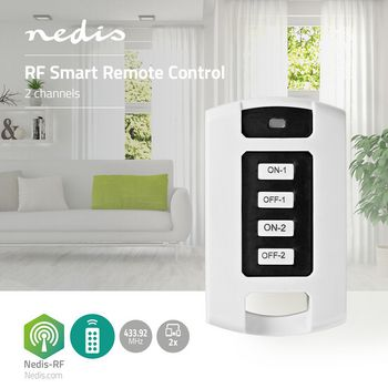 RF Smart Remote | 2 Channels