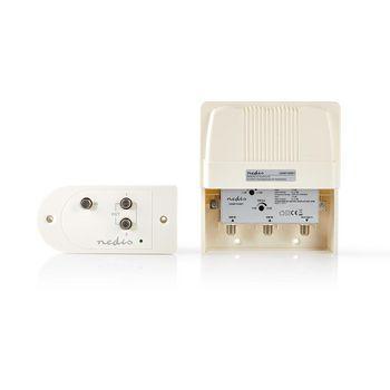 Mastmontert forsterkersett | VHF | UHF | Maks 25 dB forsterkning