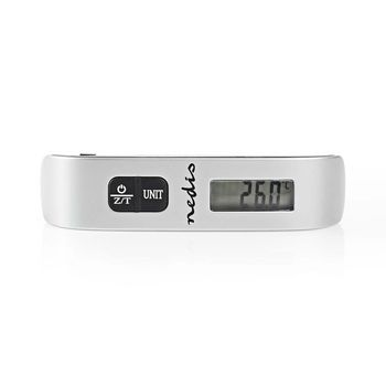 Digital Luggage Scale | 50 kg/110 lbs | Thermometer