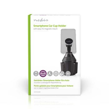 Smartphone Car Mount | 360° Rotatable | Magnetic