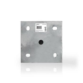 Satellite Mast 1.0 m | Diameter 48 mm | Metal | Foot