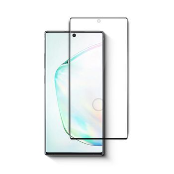 Glass Screen Protector for Samsung Galaxy Note 10 Plus | Full Cover | 3D Curved | Transparent / Black