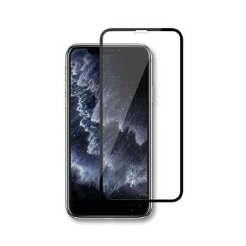 Glass Screen Protector for Apple iPhone X / Xs / 11 Pro   Full Cover   3D Curved   Transparent / Black