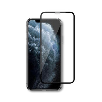 Glass Screen Protector for Apple iPhone Xs Max / 11 Pro Max   Full Cover   3D Curved   Transparent / Black
