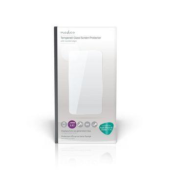 Screenprotector van Glas voor Apple iPhone 7 / 8 | 2.5D Rounded Edge | Transparant