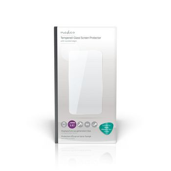 Glass Screen Protector for Apple iPhone X / Xs / 11 Pro | 2.5D Rounded Edge | Transparent