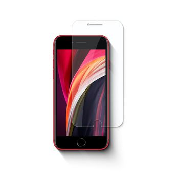 Glass Screen Protector for Apple iPhone SE (2020) | 2.5D Rounded Edge | Transparent