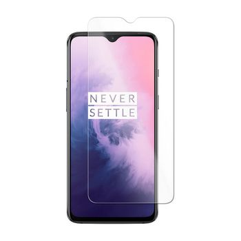 Glass Screen Protector for OnePlus 7 | 2.5D Rounded Edge | Transparent