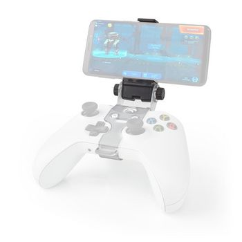Gaming phone holder | for Xbox One controller | Universal | Adjustable | Black