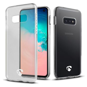 Jelly Case voor Samsung Galaxy S10 Lite | Transparant