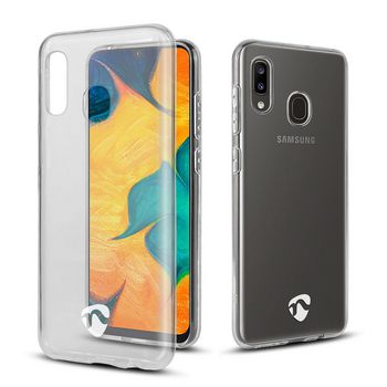 Jelly Case voor Samsung Galaxy A20 / A30 | Transparant