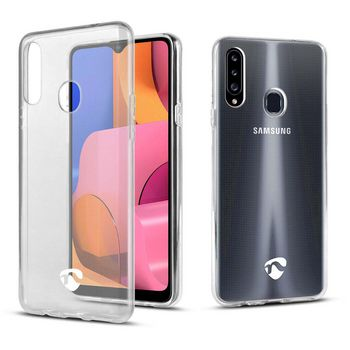 Jelly Case voor Samsung Galaxy A20S | Transparant