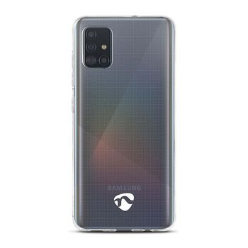 Jelly Case voor Samsung Galaxy A51 | Transparant