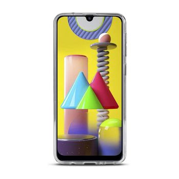 Jelly case for Samsung Galaxy M31 | Transparent