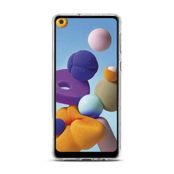 Zselés tok Samsung Galaxy A21-hez | Áttetsző