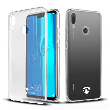 Jelly Case voor Huawei Y9 2019 | Transparant