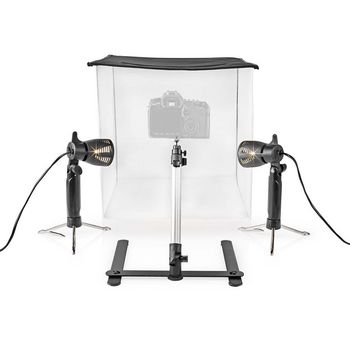 LED Photo Studio Kit | 40 x 40 cm | 6500 K | Foldable