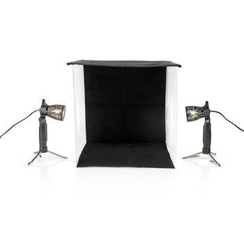 Kit de Estudio Fotográfico  40 x 40 cm   6500 K   Plegable