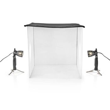 LED Photo Studio Kit | 60 x 60 cm | 6500 K | Foldable