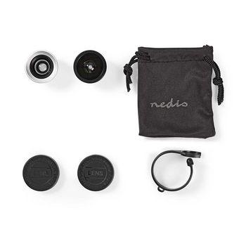 Mobile Phone Camera Lens Kit | 3 in 1 | Macro / Wide Angel & Fisheye | Clip-on