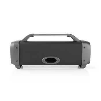Party Boombox | 12 Hours Playtime | Bluetooth® Wireless Technology | FM Radio | Party Lights | Black