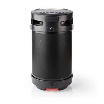 Partyhögtalare med Bluetooth® | 3.5 timmars speltid | 150 W | IPX5-vattentät | TWS | Bärhandtag | Partybelysning | Svart