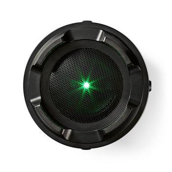 Altavoz para Fiestas con Bluetooth® | 3,5 Horas de Reproducción | 150 W | Protección IPX5 | TWS | Correa de Transporte | Luces de Fiesta | Negro