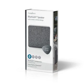 Bluetooth® Speaker | 15 W | Metal Crafted Design | Aluminium Silver