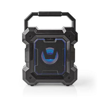 Bluetooth® Reproduktor | Doba přehrávání na baterie: Až 13 hodin | Stolní provedení | 5 W | Mono | Vestavěný mikrofon | Černá